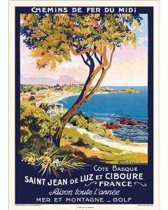 Saint Jean de Luz Chemins de Fer