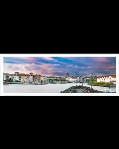 Saint Jean de Luz, Sunset sur le port