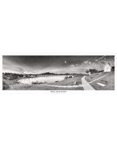 Les hauteurs de Sainte-Barbe Noir et Blanc