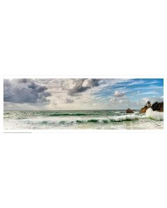 Ciel d'orage sur la Côte des Basques couleurs